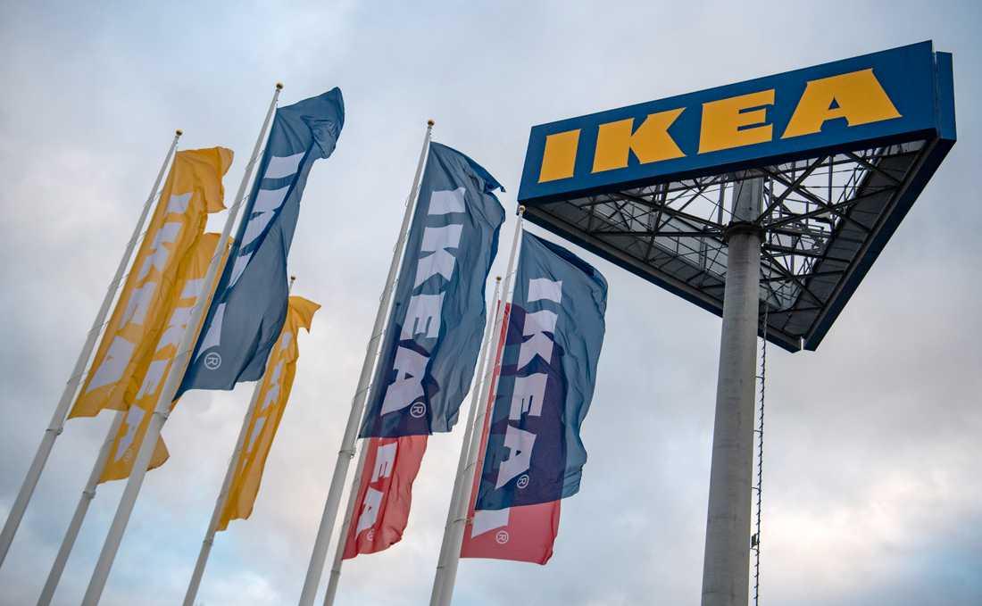 Arkivbild IKEA–varuhus.