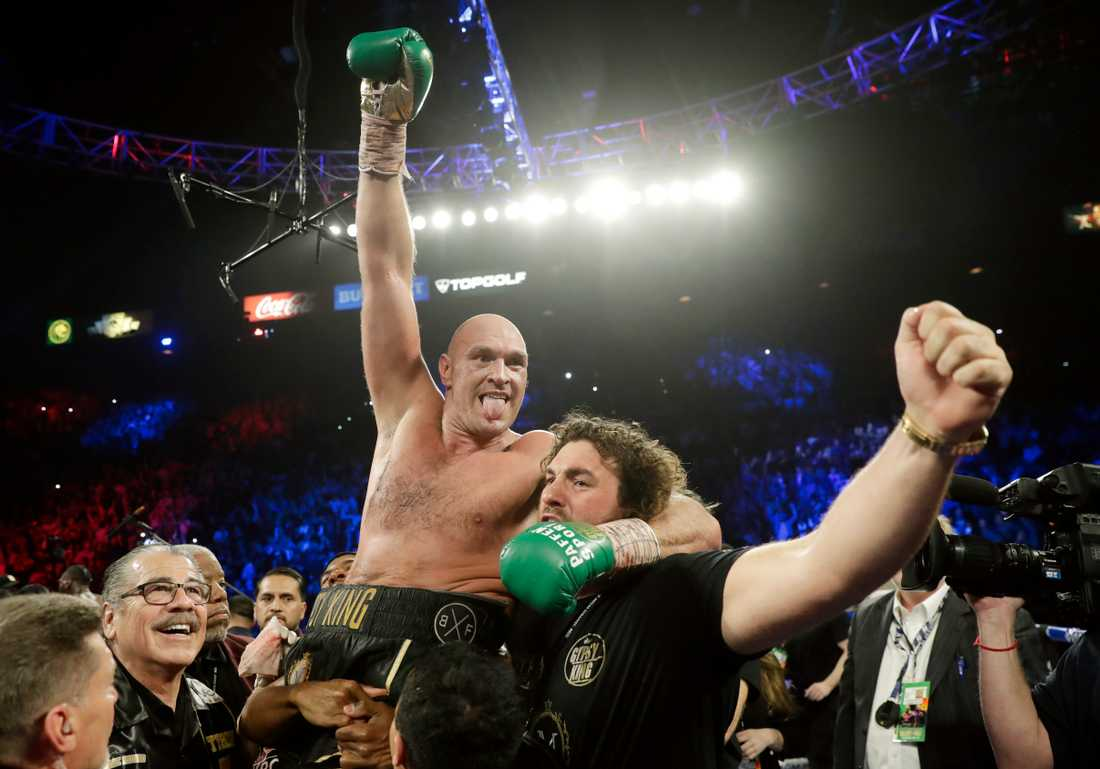 Vad som väntar Fury efter WBC-bältet är ännu oklart. Wilder har möjligheten till en returmatch.