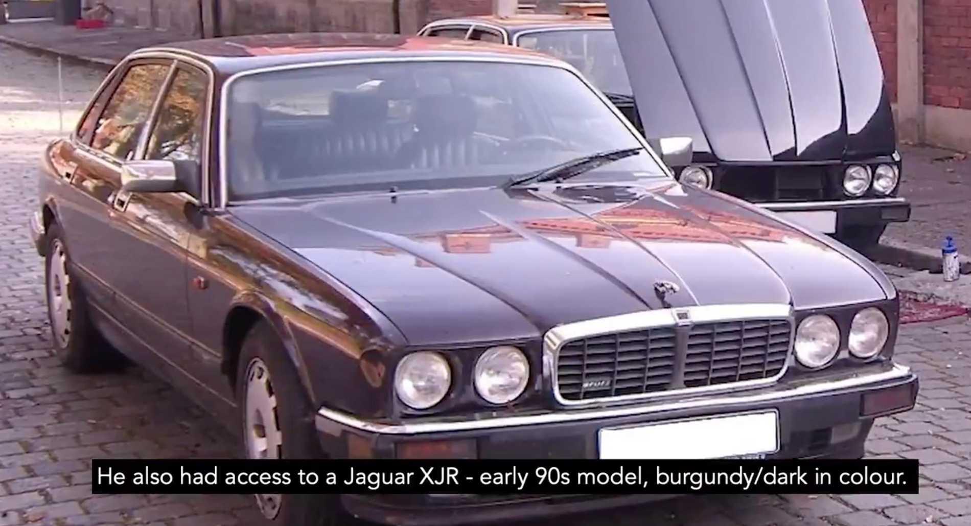 Polisen vill också ha uppgifter om en Jaguar som den tyske mannen ska ha ägt.