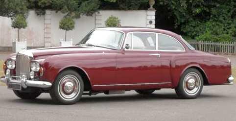 Bentley S3 Continental Silver Spur i tvådörrars coupéutförande.
