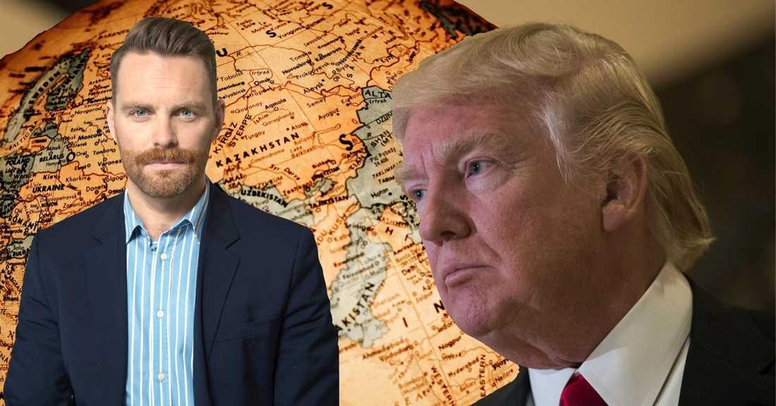 Vi måste utgå ifrån att Trump försöker genomföra sina vallöften och fortsätter vara precis samma person som vi sett hittills. Sverige måste nu bygga breda allianser som kan stå upp fred, klimat och alla människors lika värde, skriver Hans Linde (V).