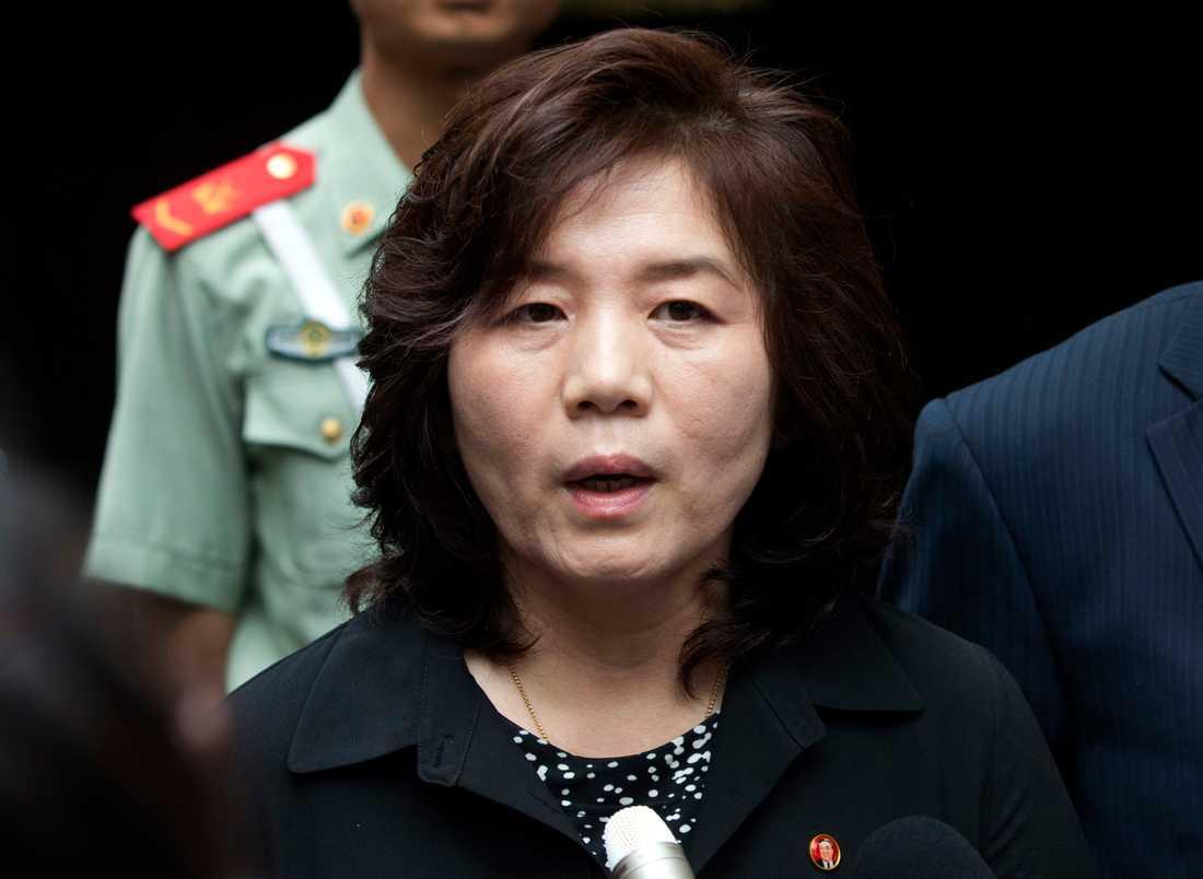 Choe Son-Hun från Nordkorea.