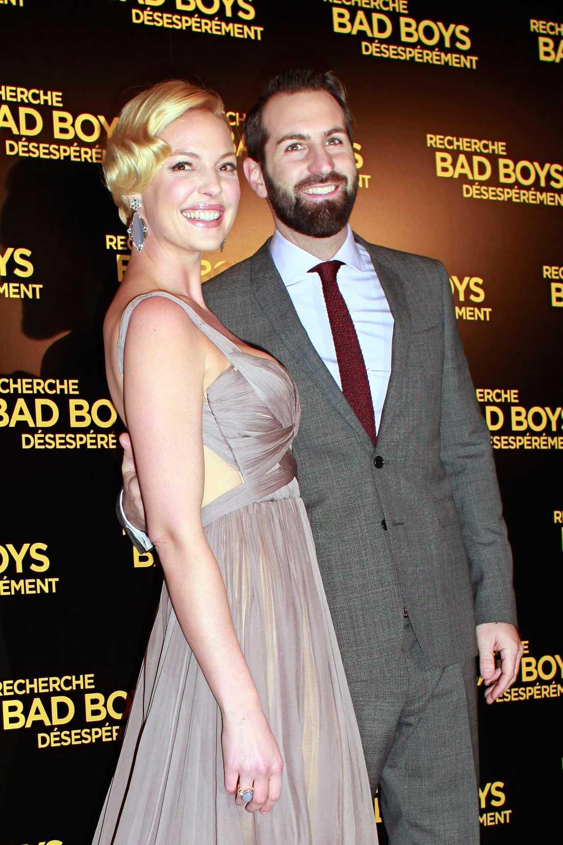 Katherine Heigl och Josh Kelley.