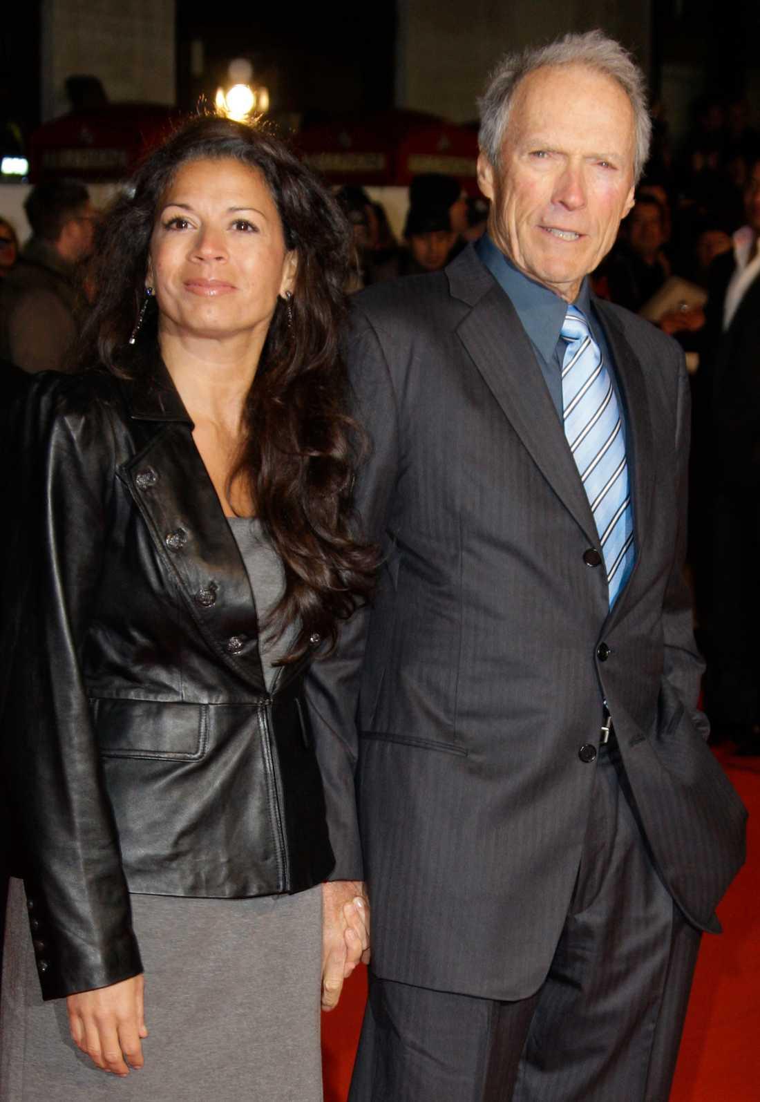Dina och Clint Eastwood.