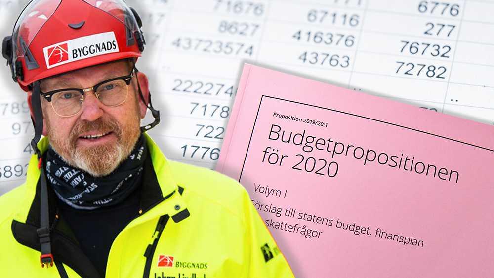 Rusta upp miljonprogrammet, behåll nivåerna i a-kassan och öka satsningarna mot företag som fuskar och konkurrerar ut seriösa aktörer, skriver Johan Lindholm.