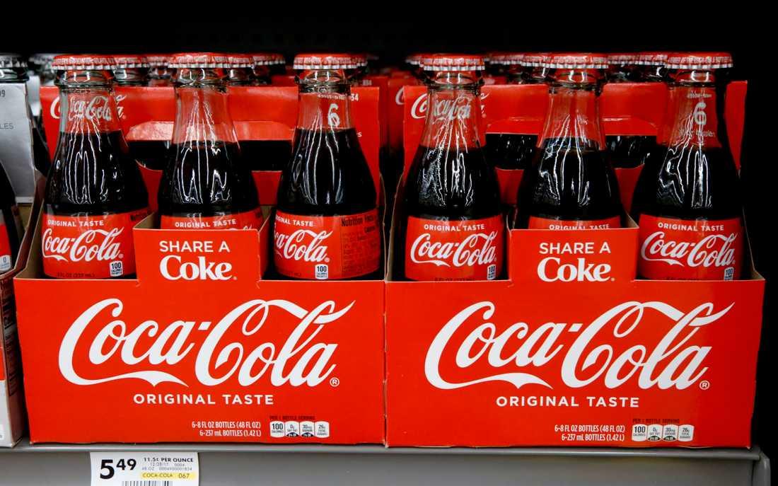 Coca-Cola håller ett öga på den legala cannabismarknaden.