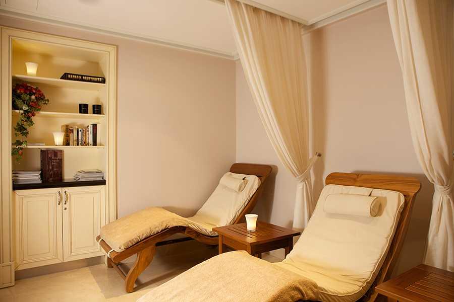 Ett av behandlingsrummen på Opera hotel i Riga.