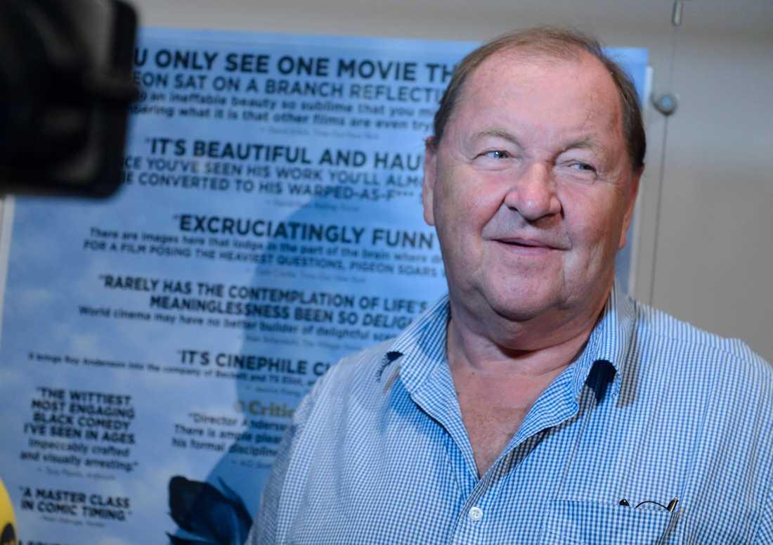 """Regissören Roy Andersson tävlar i filmfestivalen i Toronto med sin nya film """"Om det oändliga"""". Arkivbild."""