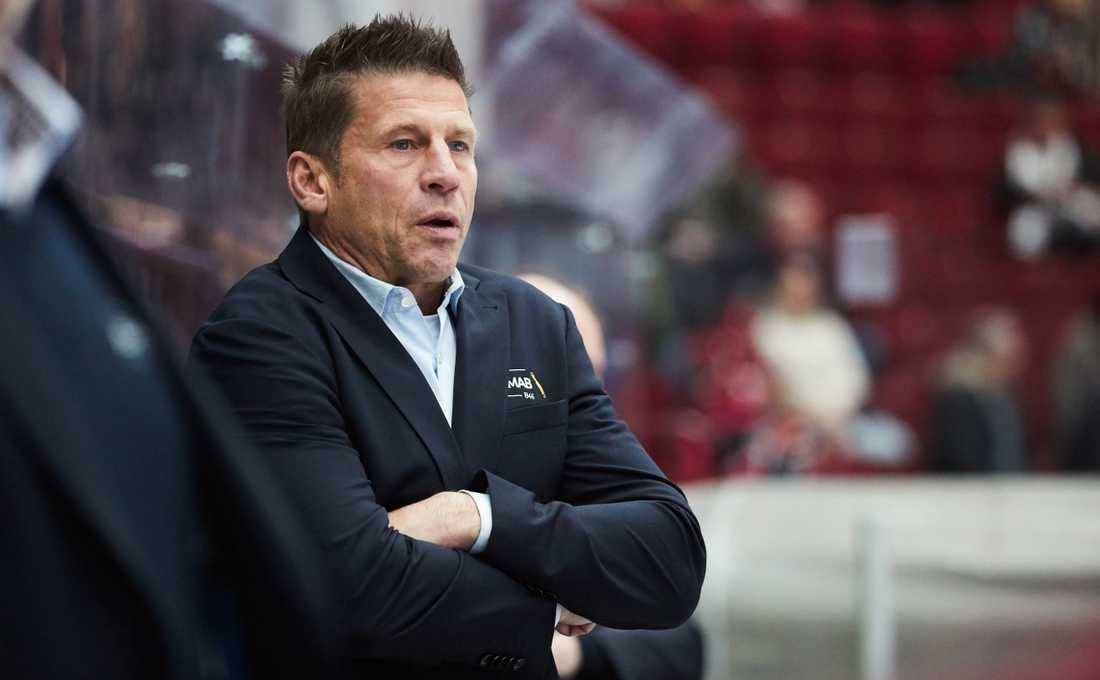 Leksands tränare Ulf Samuelsson fick se sitt lag tappa viktiga poäng borta mot Malmö.