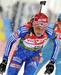 Albina Akhatova.
