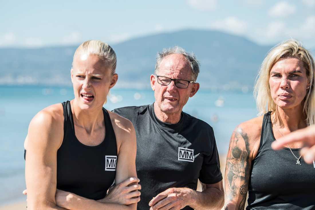 Carolina Klüft, Kjell Isaksson och Mikaela Laurén i Mästarnas mästare