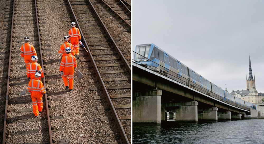 Stockholmstrafiken kommer påverkas rejält i sommar.