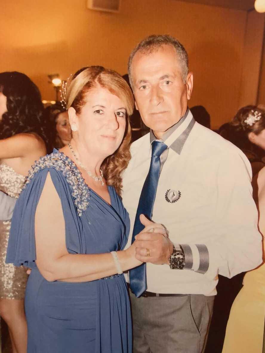 Yasmin Kaplan med sin man Alex.