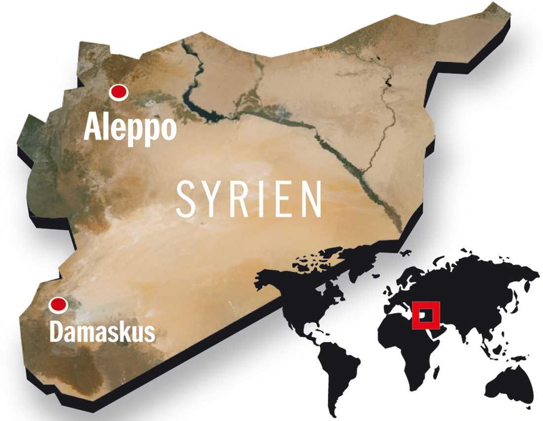 Upproret i Syrien startade i mars 2011. Fredliga demonstranter krävde demokrati och president Bashar al-Assads avgång. Regimen svarade med brutalt våld och efter ett halvår började demonstranterna beväpna sig. Enligt oppositionen har mer än 30 000 civila och soldater dödats i inbördeskriget. FN uppger att siffran är över 18000. Enligt FN är 2,5 miljoner invånare i brådskande behov av humanitär hjälp och 300000 flyktingar har registrerats i grannländer.