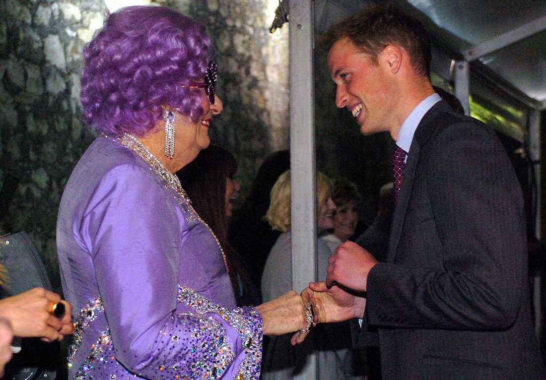 Dame Edna och Prins William 2006.A