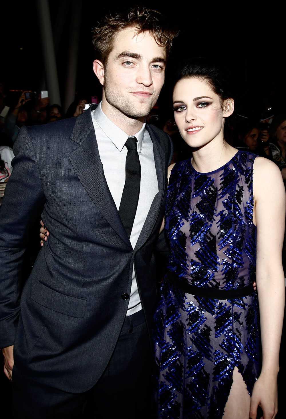Här är det stiliga paret på premiären för den tredje filmen i vampyrserien.