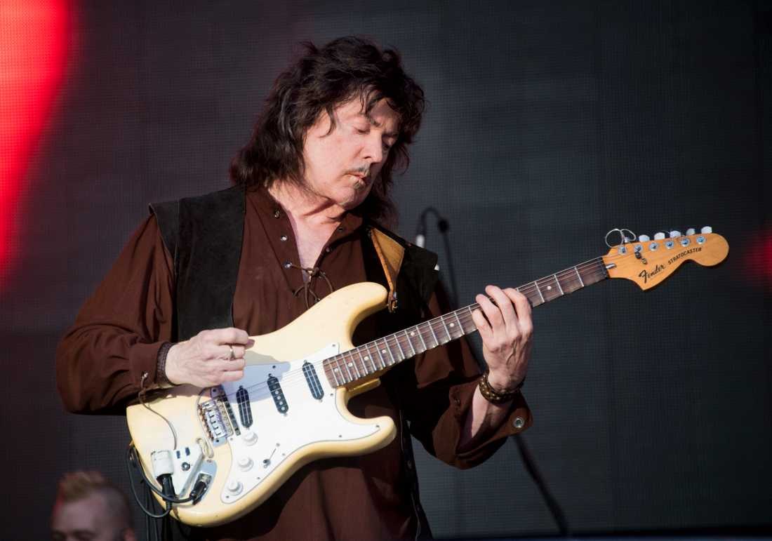 Ritchie Blackmore i Rainbow.