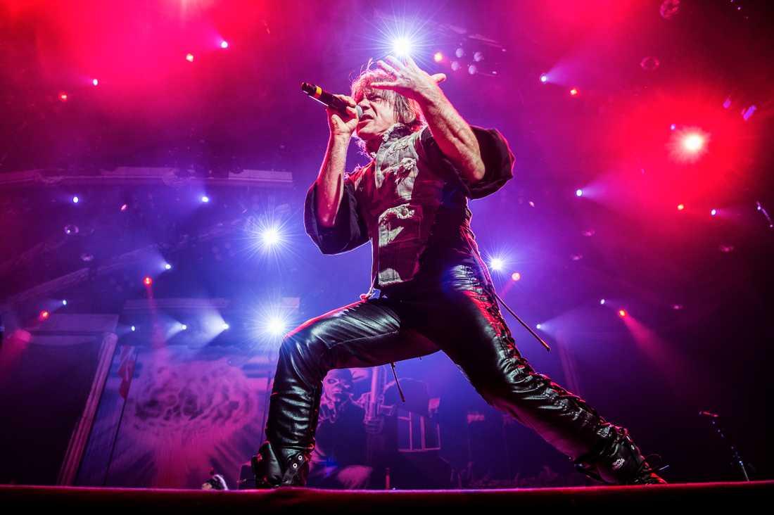 Malin och Martin gick för några dagar sedan på Iron Maidens spelning i Stockholm.