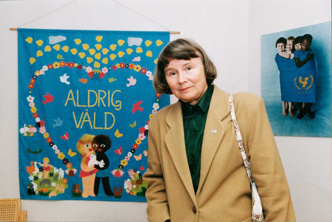 Lisbeth Palme.