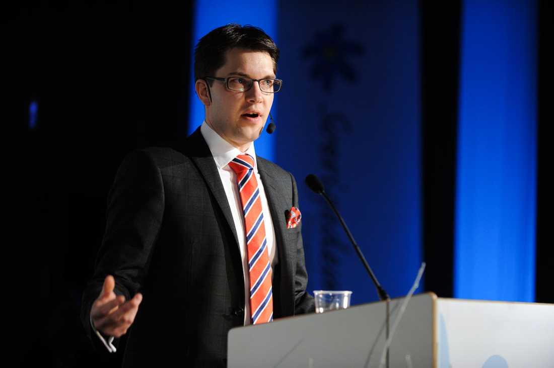 Det har gått fort för Jimmie Åkesson och Sverigedemokraterna att anpassa sig till den politiska eliten – och även ta till sig flera av yrkespolitikens sämsta sidor, menar debattören. Det handlar om att gynna sina egna, hålla sig undan svåra frågor, säga en sak och göra något annat och endast bry sig när det gynnar egna intressen.