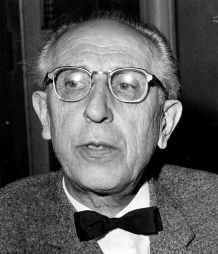 Hilding Rosenberg – förste modernisten. Foto: ARKIVBILD