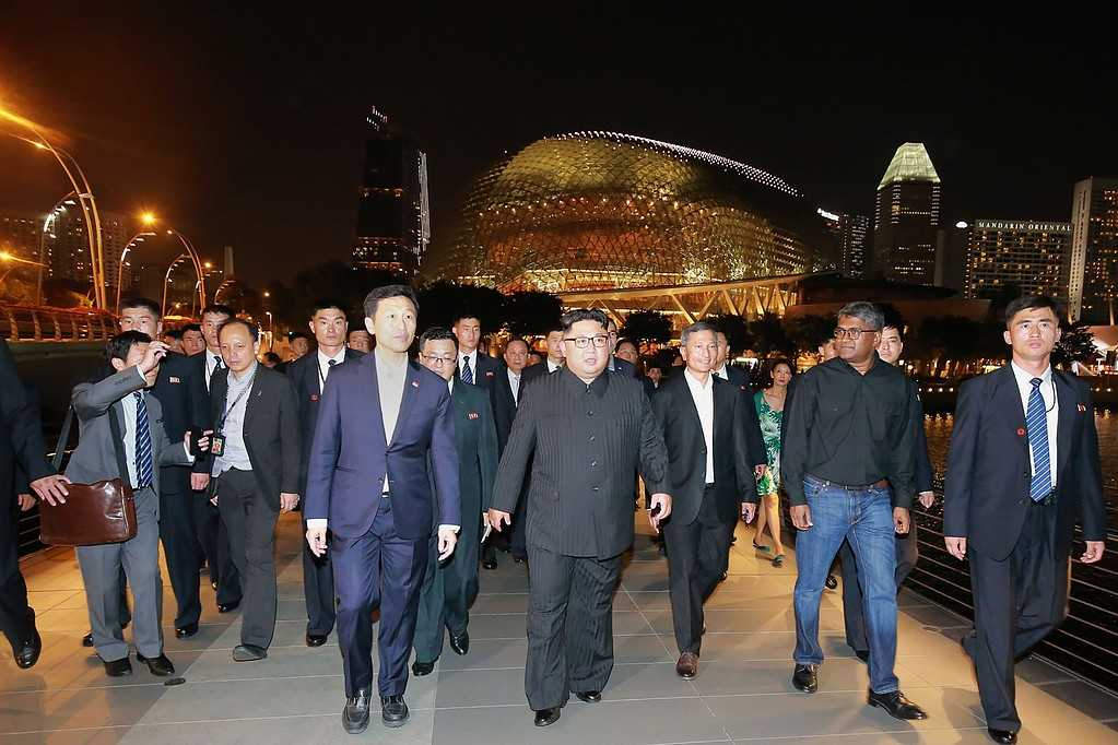 Bild släppt av KCNA.