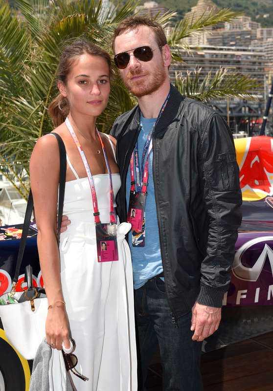 Alicia Vikander och Michael Fassbender är hemlighetsfulla kring sin relation.