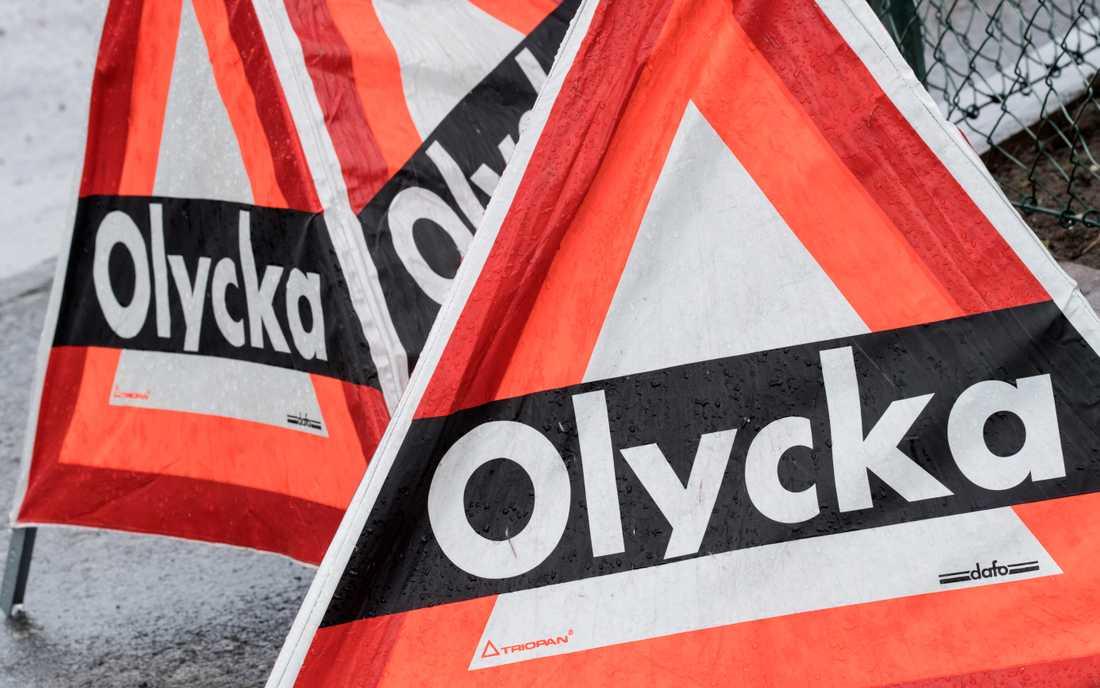 Två olyckor har ställt till det för trafiken på E6 norr om Landskrona. Arkivbild.
