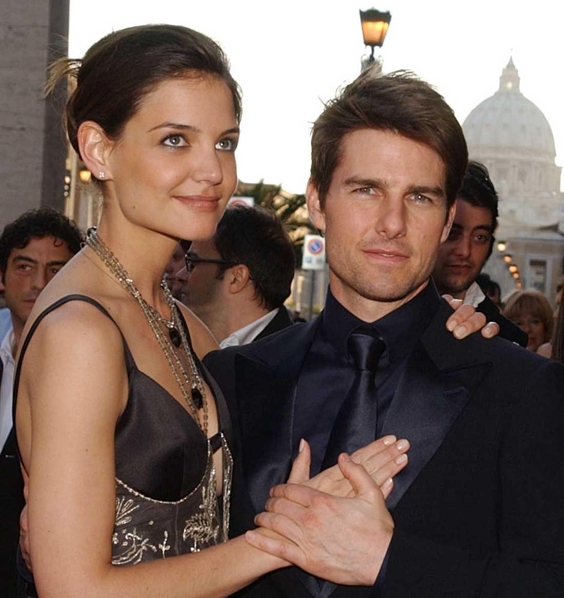 d0de3b9f5267 Katie Holmes och Tom Cruise fångade på bild 2005 innan de gifte sig.
