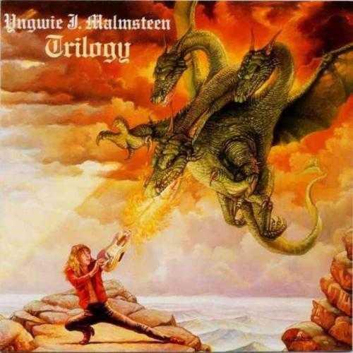 Yngwie Malmsteen - Trilogy  Estradören och musikern Malmsteen hakar på fantasytåget och dödar drakar.