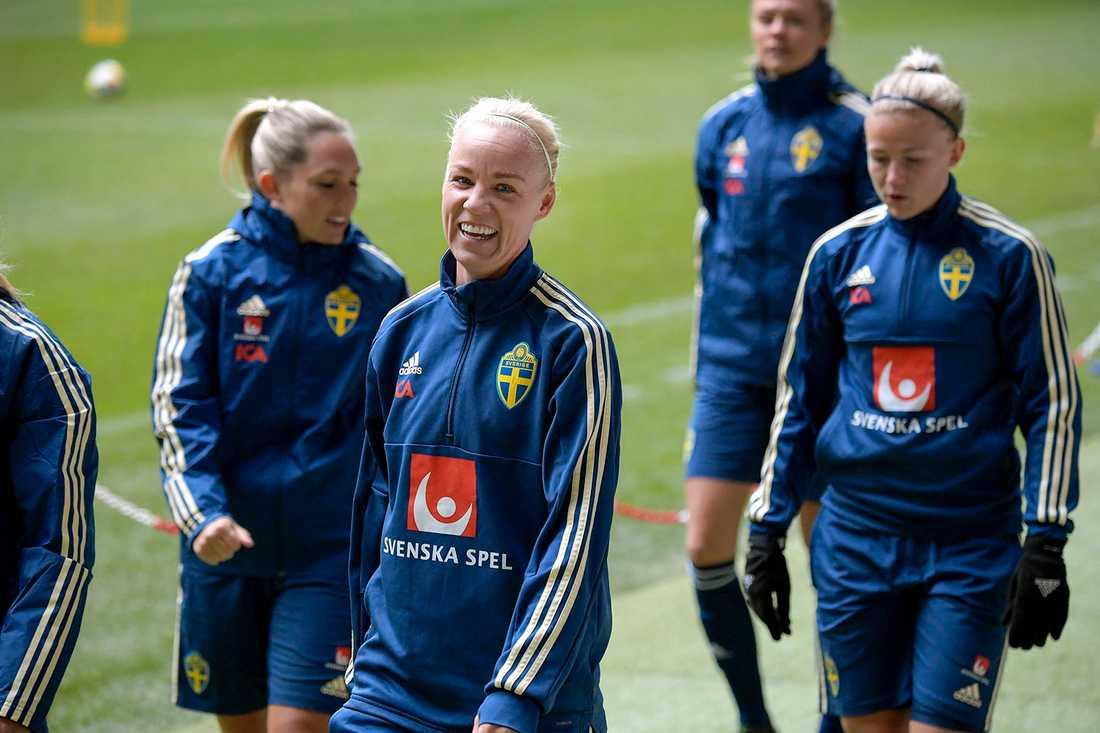 Caroline Seger ger klartecken till matchen mot Tyskland