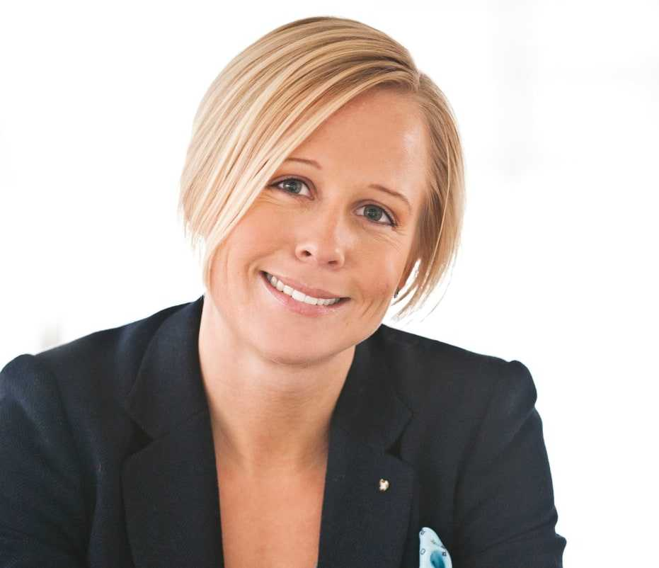 Celin Huseby på Mondelez i Norden.