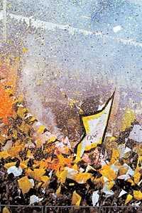 AIK:s supportrar är allsvenska mästare på tifo. Om detta råder det ingen tvekan när fansen själva får säga sitt i frågan.