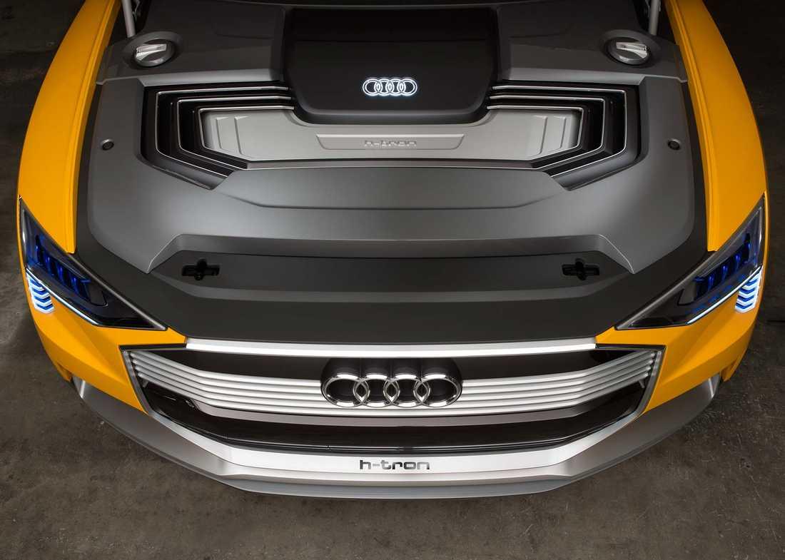Konceptbilen Audi h-tron quattro.