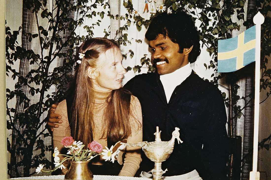 Pradyumna Kumar mötte sin Lotta på gatan i New Delhi för 35 år sedan.