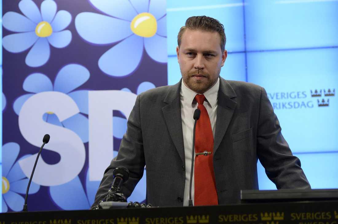 Mattias Karlsson (SD).