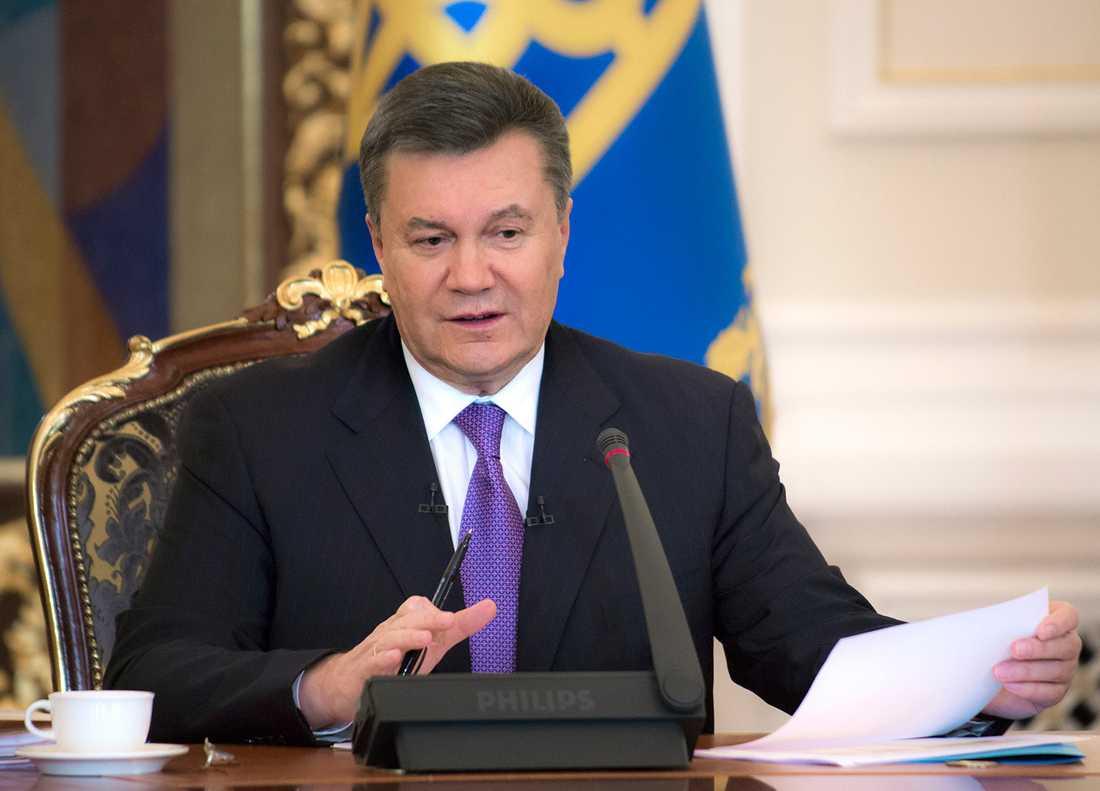 President Janukovitj.