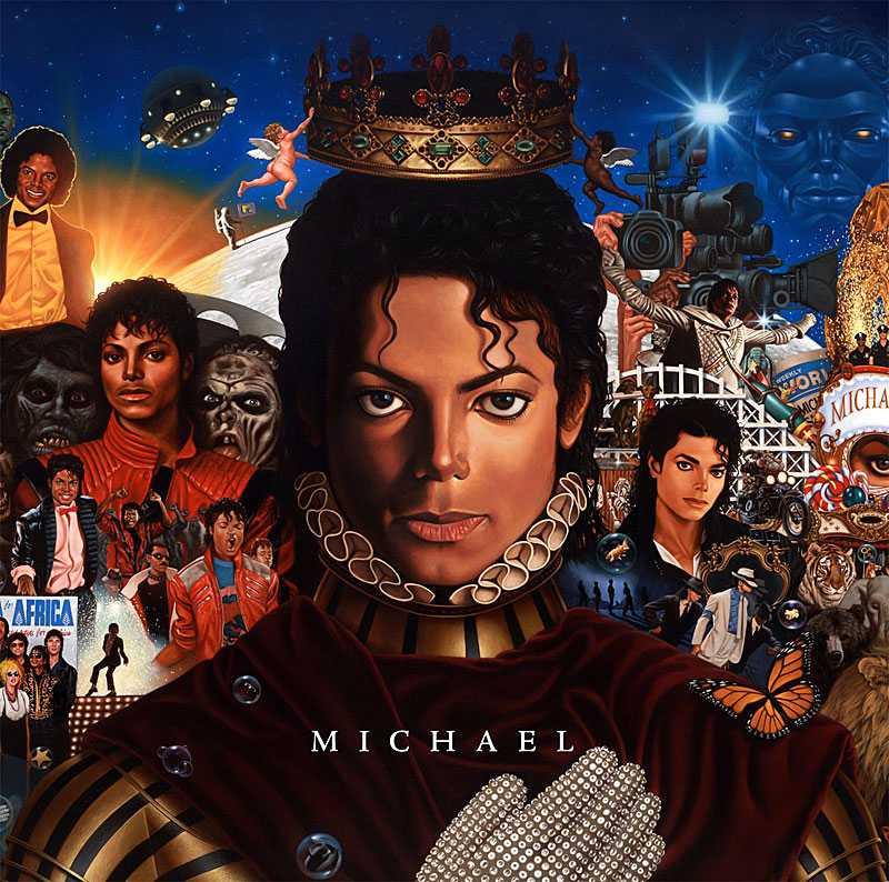 "Michael Jacksons nya album ""Michael"" släpps 14 december."