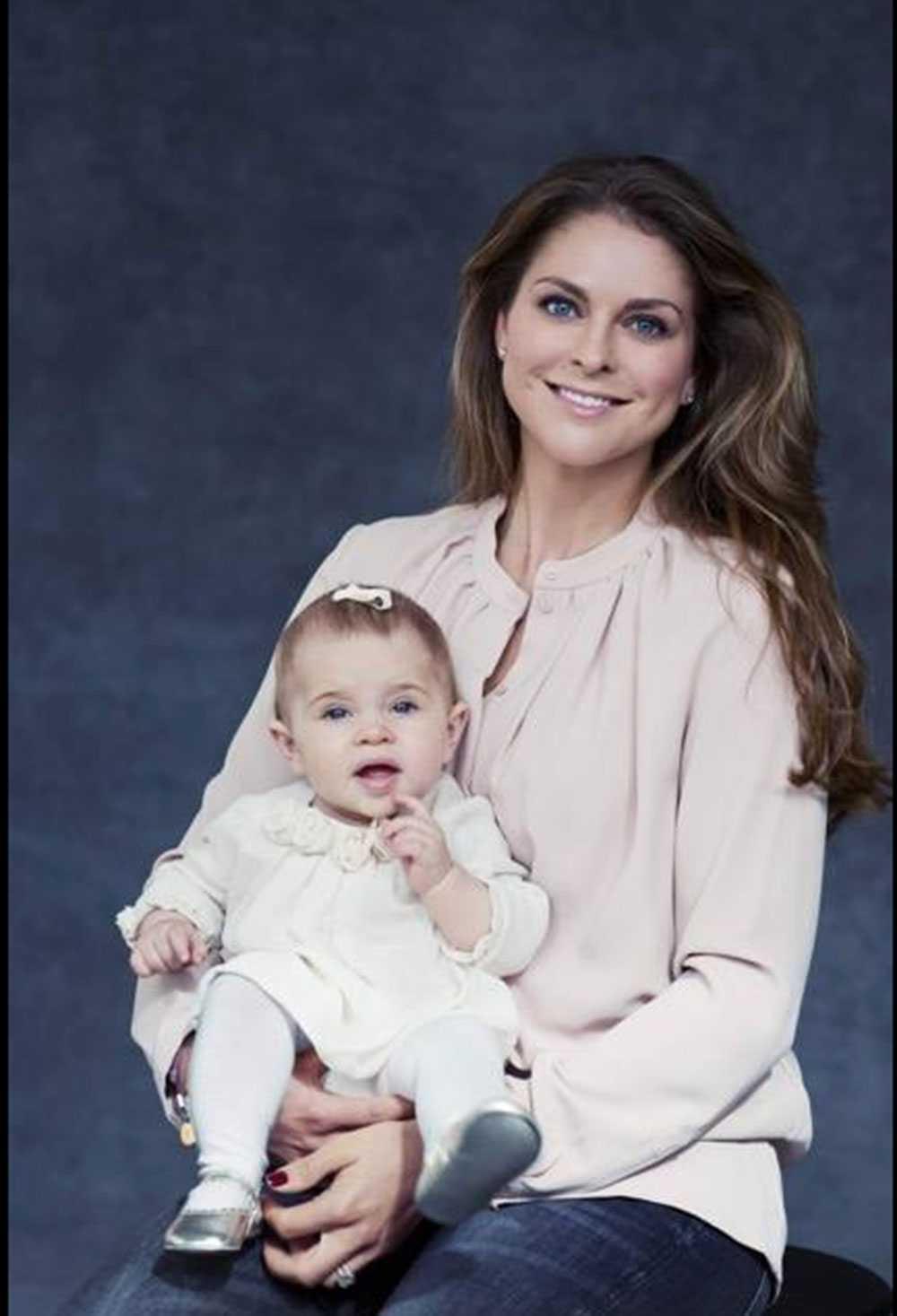 Prinsessan Madeleine och Leonore.