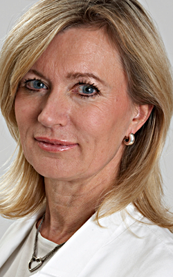 Margareta Frohm Nilsson, hudläkare på Akademikliniken.