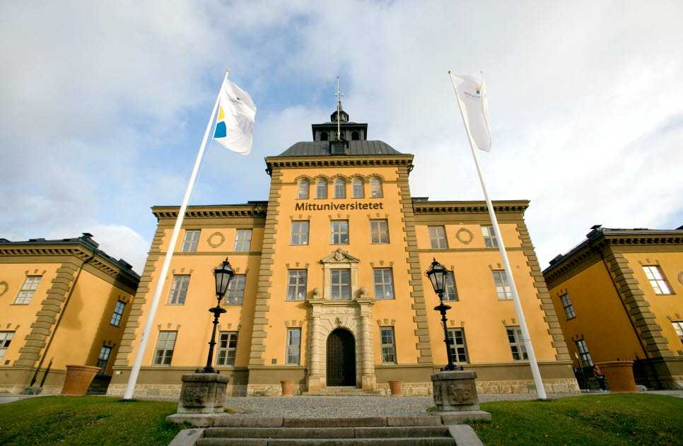 Mittuniversitetet i Östersund.