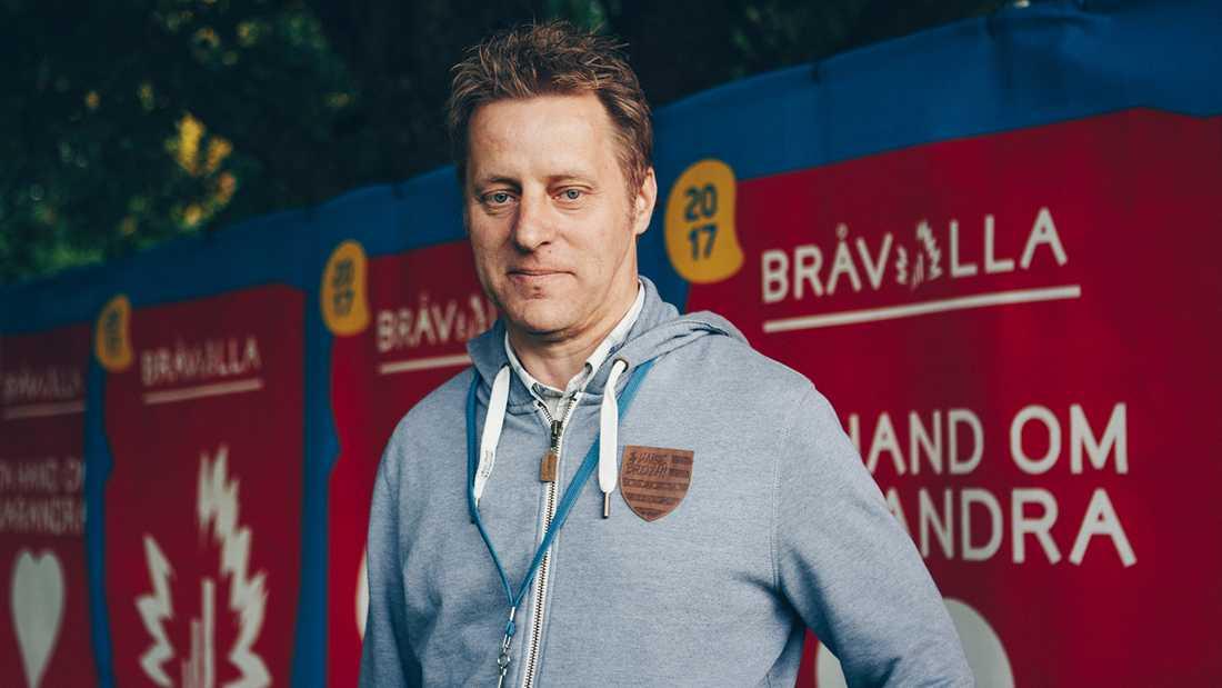 Folkert Koopmans, grundare och ägare av Bråvallafestivalen.