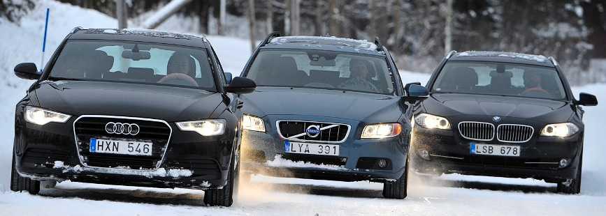 Audi, Volvo och BMW gör alla bilar som drar betydligt mer än vad som anges.