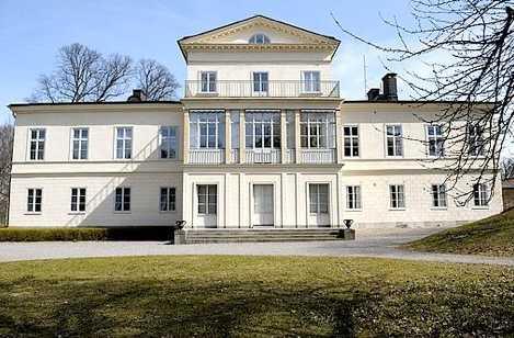 Här ska de bo Haga slott i Hagaparken.