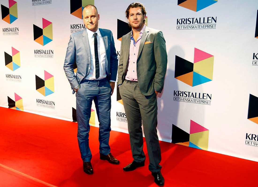 Magnus Hedberg och Patrick Grimlund.