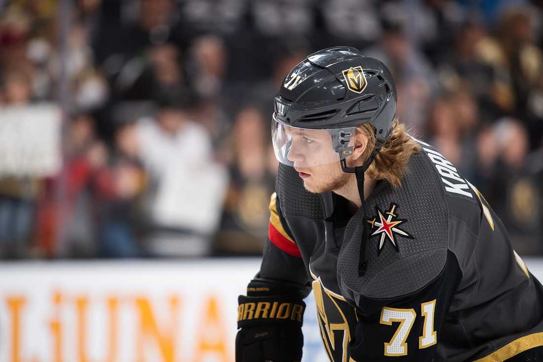William Karlsson i Vegas