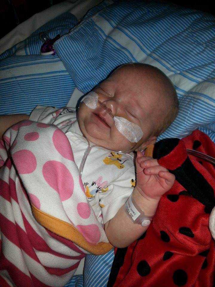 Milly är bara två månader. Foto: Privat