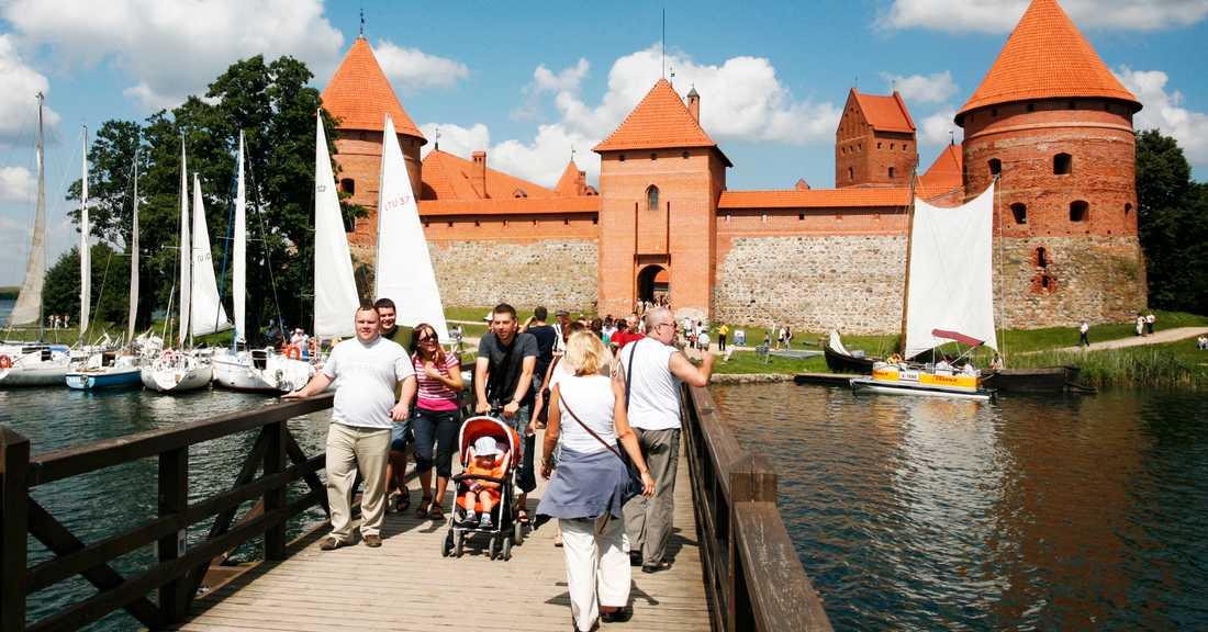 Den gamla Trakaiborgen.