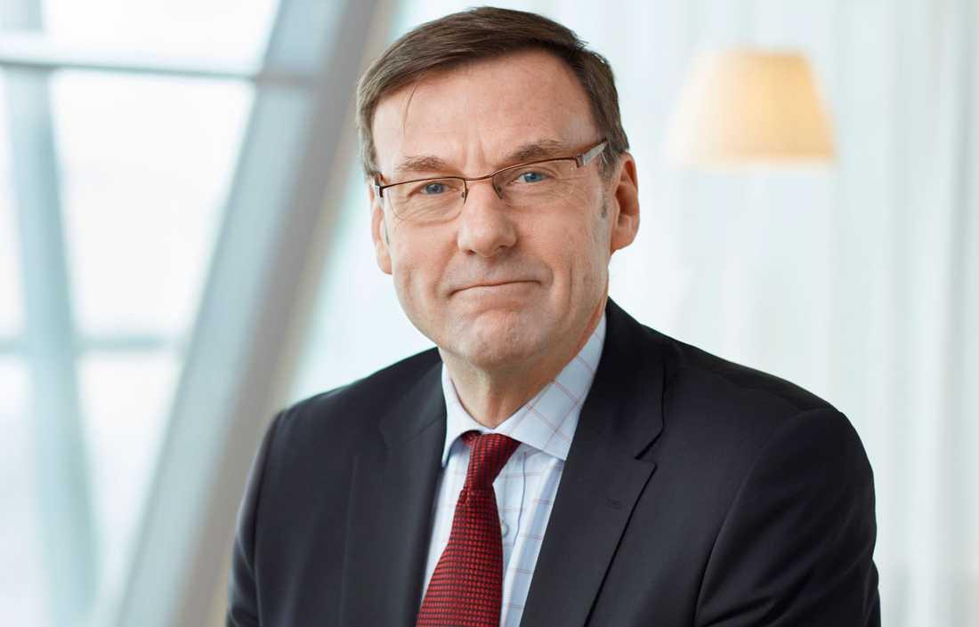 Anders Holm, chef för Postnord Sverige,