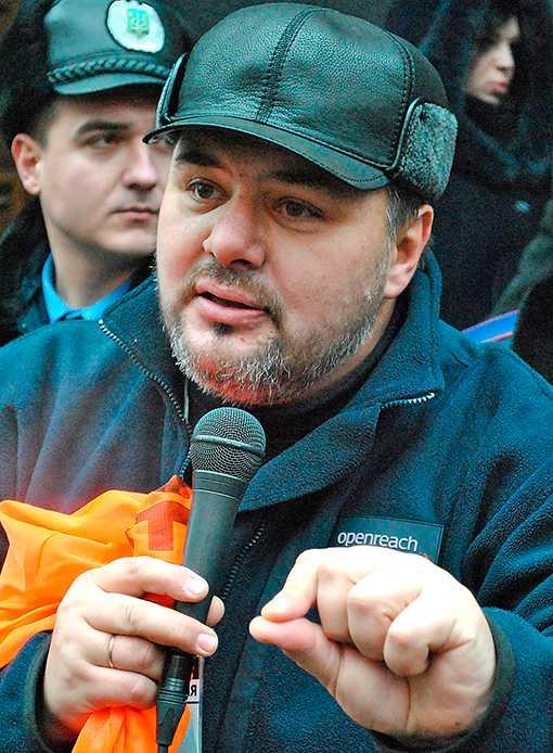 Ruslan Kotsaba, krigskorrespondent för huvudstadskanalen 112 i Ukraina, riskerar 13 års fängelse för landsförräderi.